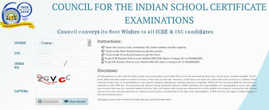 ICSE 10th Result 2019 / ISC 12th result 2019