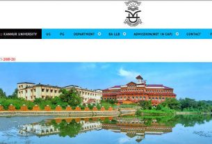 Kannur University UG Admission 2019 Online Application - Degree single window admission
