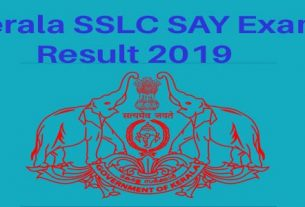 Kerala SSLC SAY Exam Result 2019 - Pareekshabhavan