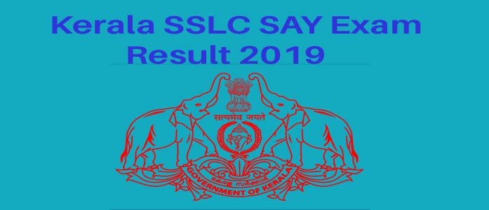 Kerala SSLC SAY Exam Result 2019 - Pareekshabhavan