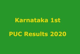 Karnataka PUC Result