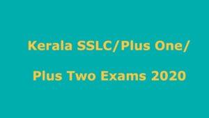 SSLC Exam Dates