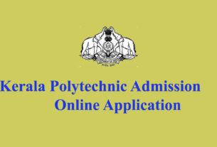 Kerala Polytechnic Admission Application - Polyadmission.org registration