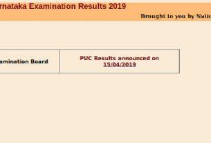 Karnatala SSLC result 2021 - kseeb sslc result