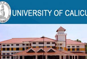 Calicut University UG Third Allotment