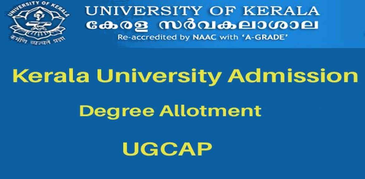 Kerala University UG third allotment