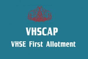 VHSCAP VHSE First Allotment